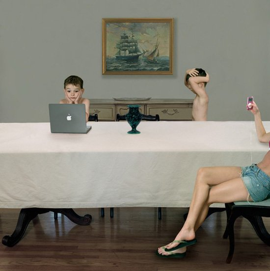 Bybysitter, from the series, Domestic Vacations. © Julie Blackmon.