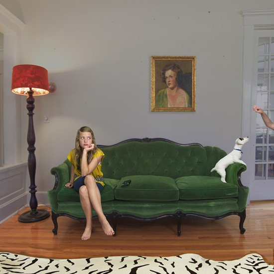 Green Velvet, from the series, Domestic Vacations. © Julie Blackmon.
