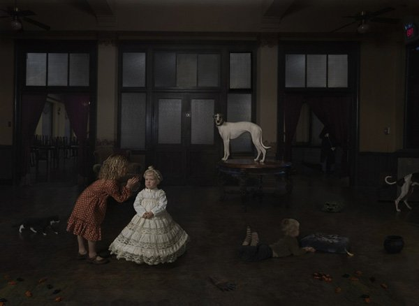 Queen, from the series, New Work. © Julie Blackmon.