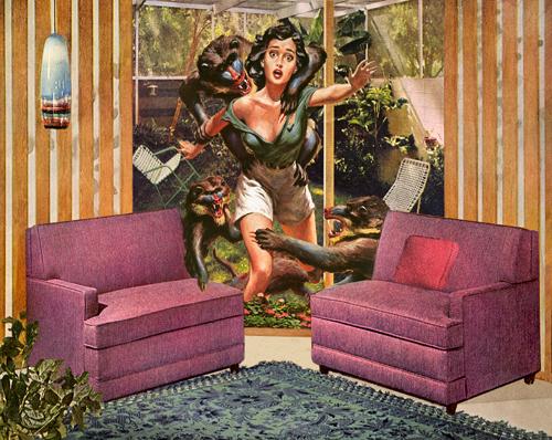 Nadine Boughton- True Adventures- Photo Collage- Comic Book