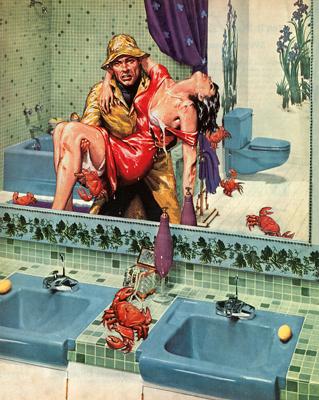 Nadine Boughton- True Adventures- Digital Collage- Comic Books