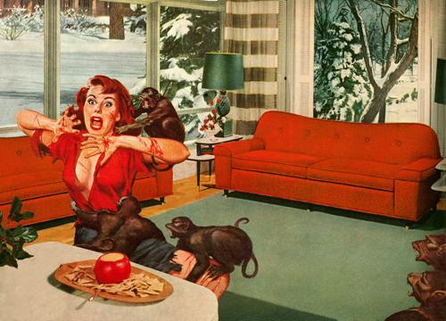 Nadine Boughton-True Adventures- Digital Collage- Comic Books