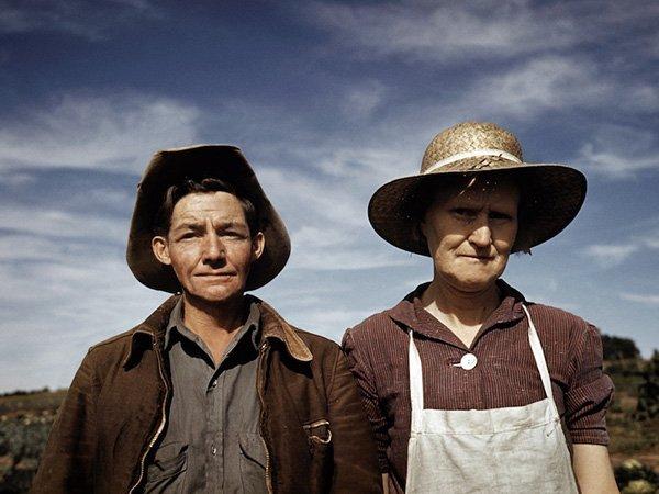 Jean Norris and wife Virginia Norris, homesteaders and town founders. © Debbie Grossman