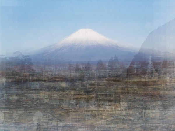 Fujisan, from the series, Photo Opportunities. ©Corinne Vionnet.