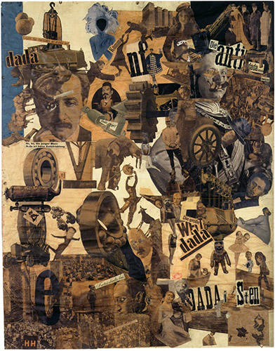 Cut with the Kitchen Knife Dada through the Last Weimar Beer-Belly Cultural Epoch of Germany, 1919. Hannah Hoch.