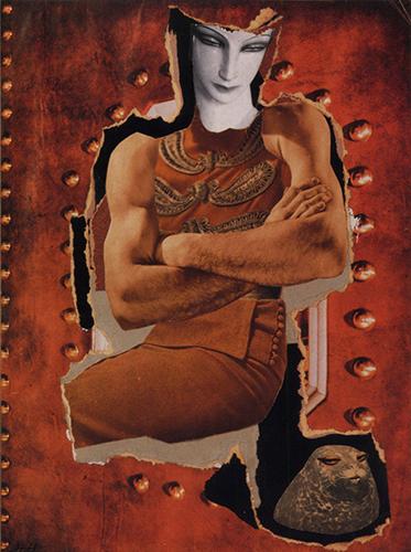 Dompteuse (Tamer), Hannah Hoch. 1930