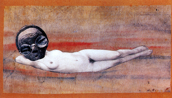From An Ethnographic Museum, by Hannah Hoch. 1929
