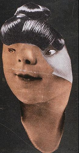 German Girl,1930. Hannah Hoch