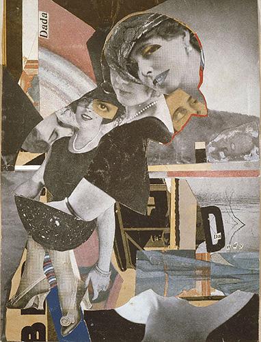 Da-Dandy, 1919. Hannah Hoch