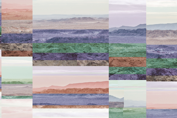 Desert Range (}.o}s}.gt), from the series, Bit Rot. © Kalee Appleton.