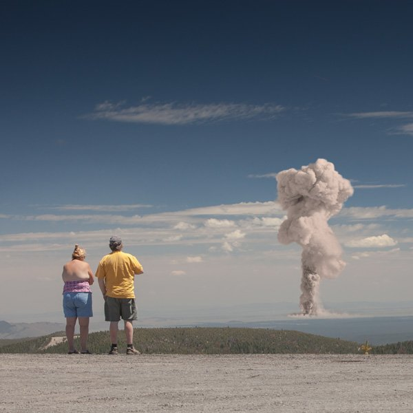 #01, from the series, Atomic Overlook, © Clay Lipsky