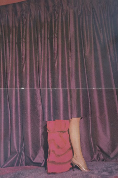 Drape (Centrefold I), from the series, Drape, © Eva Stenram