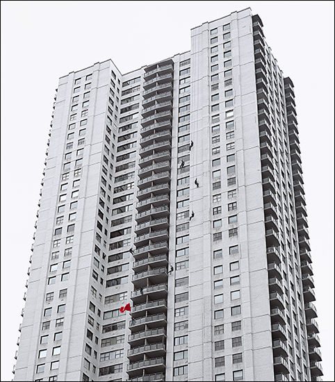 Revolutionary (day), from the series, Apartments.2001, c-print, 96x86cm