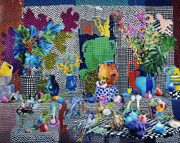 Still Life with Onions and Mackerel, 2014. © Daniel Gordon.