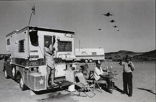 Desert Shower, Yuma, Arizona, 1985-93