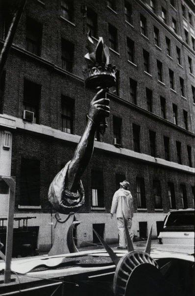 Fragmented Liberty, New York City, 1987