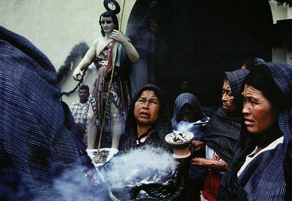 Procession with Incense, San Juan Mixtepec, Oaxaca, 1991-93