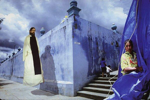 The Strolling Saint, Nochistlan, Oaxaca, 1991-92