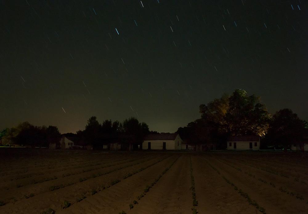 "Stopover, Frogmore Plantation, Concordia Parish, Louisiana, 2014. Digital chromgenic print, 25 x 36."" © Jeanine Michna-Bales / courtesy Arnika Dawkins Gallery."