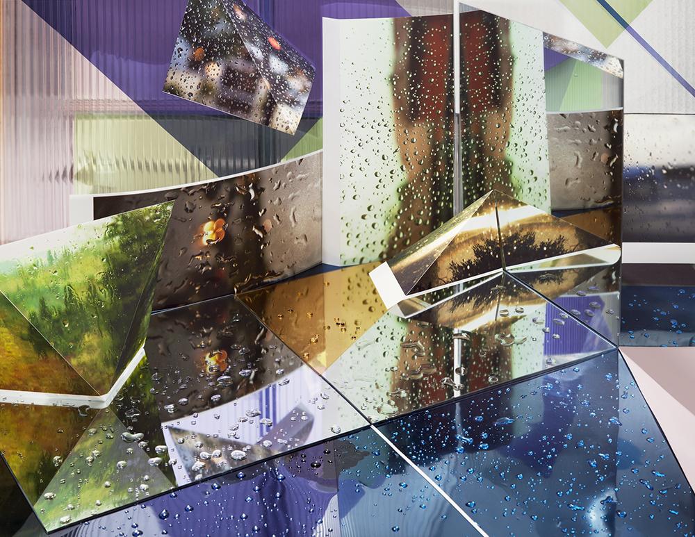 "Rainy Windows, 2013. Pigment print, 30"" x 40."" © Anastasia Samoylova/ courtesy the artist and Julie Saul Gallery."