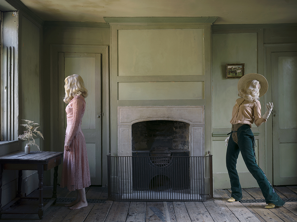 "She Could Have Been a Cowboy, 2016. Chromogenic print, 44"" x 59."" © Anja Niemi / courtesy The Little Black Gallery / Steven Kasher Gallery"