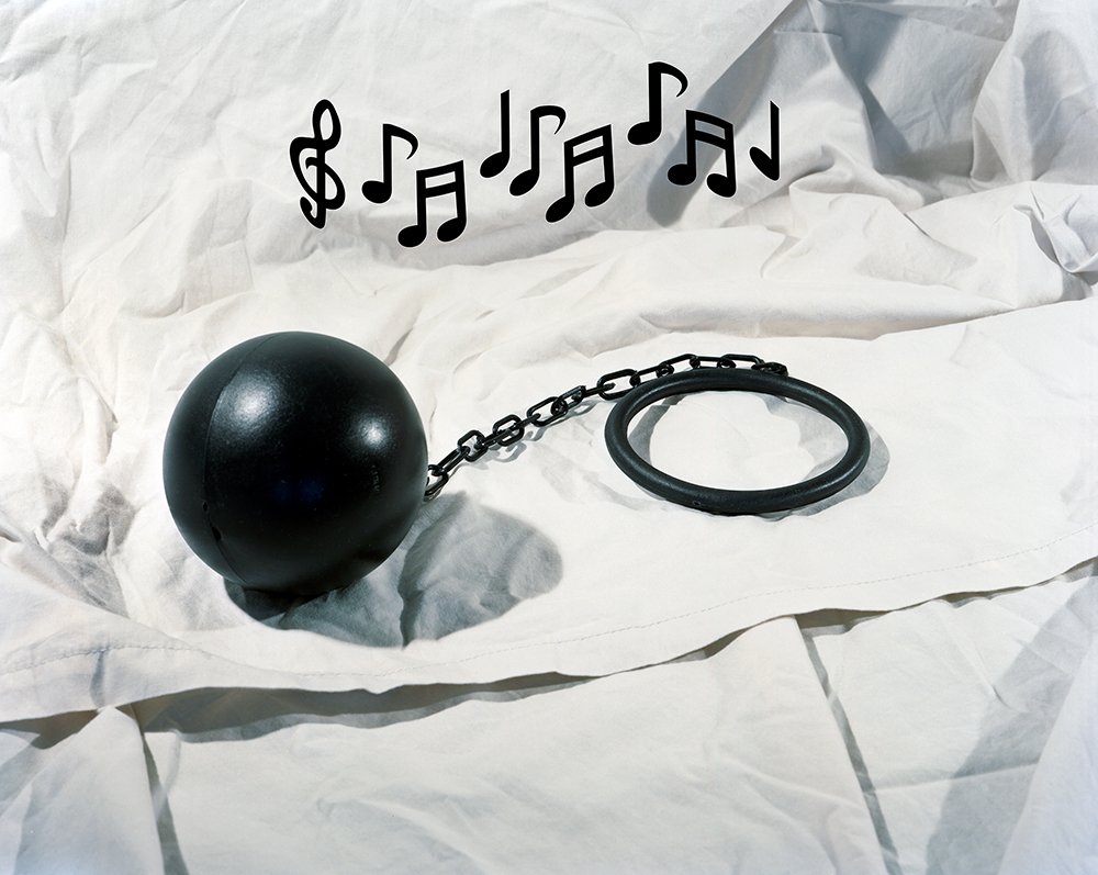 ball and chain music, 2012. © Lucas Blalock.