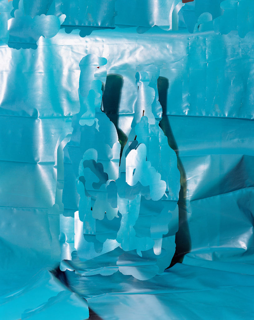 Blue Bottles, 2013. © Lucas Blalock.