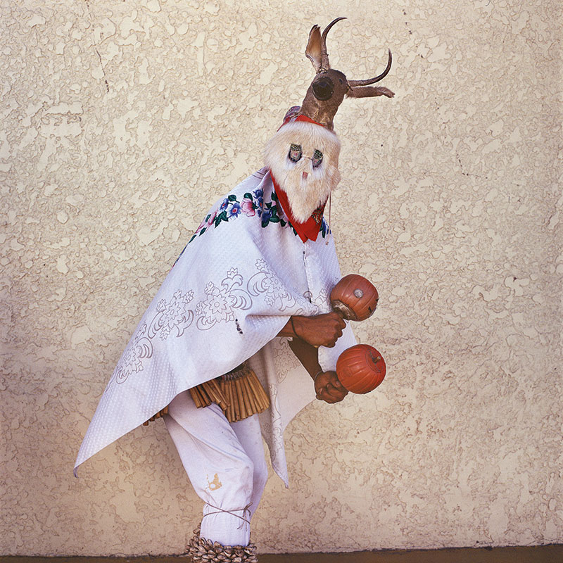 Mayo Chapakoba | Fariseo Mimicking Deer Dancer, (2008) © Phyllis Galembo. Courtesy of the artist.