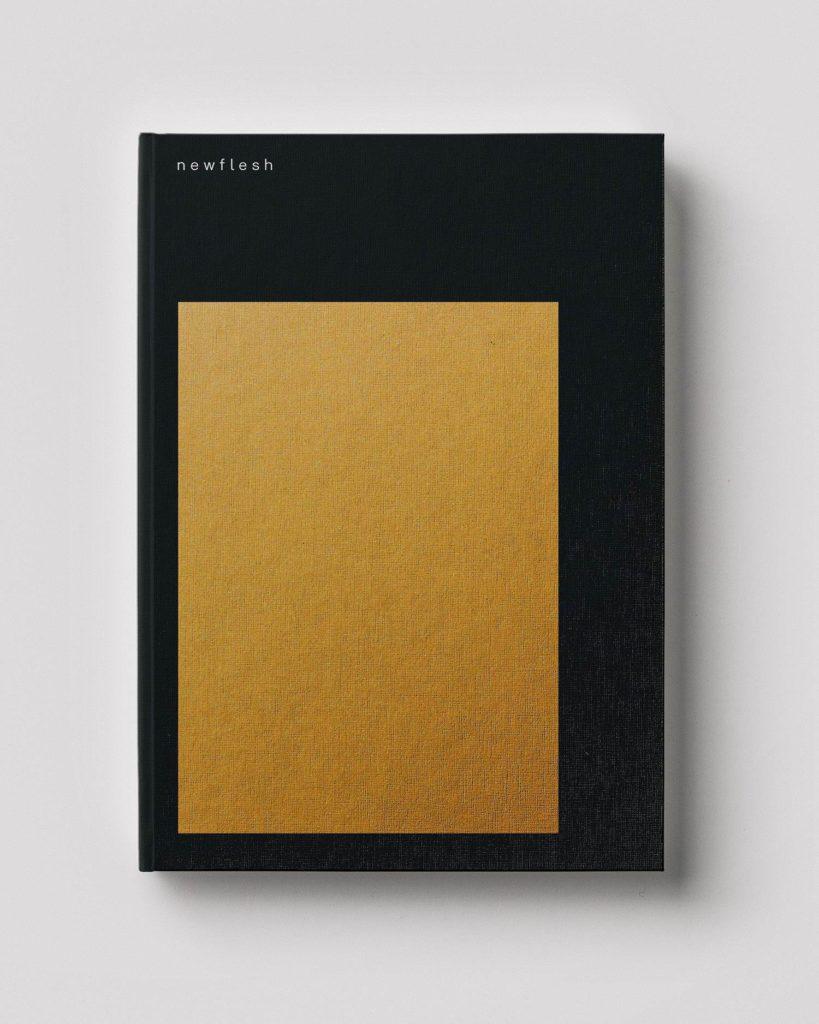 Cover of n e w f l e s h (Gnomic Book, 2019). Courtesy of Gnomic Book and Efrem Zelony-Mindell